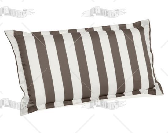 promo cuscino schienale righe tortora di re garden