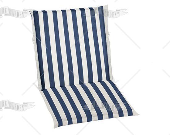 promo cuscino poltrona bassa onda blu di re garden