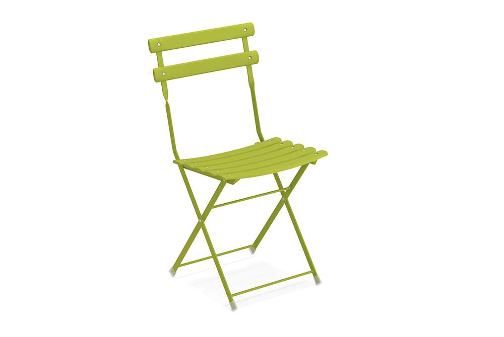 promo sedia arc en ciel verde acido di emu