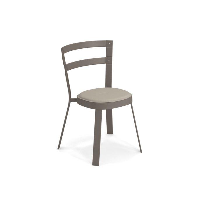 promo sedia thor marrone con cuscino di emu
