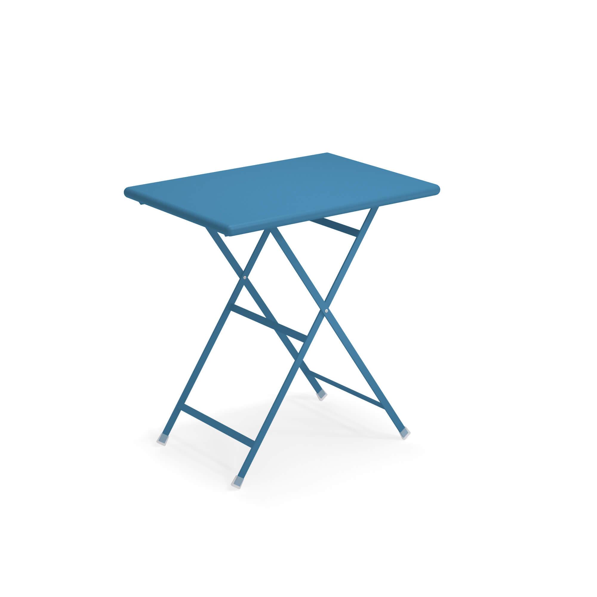promo tavolo arc en ciel 70 azzurro di emu