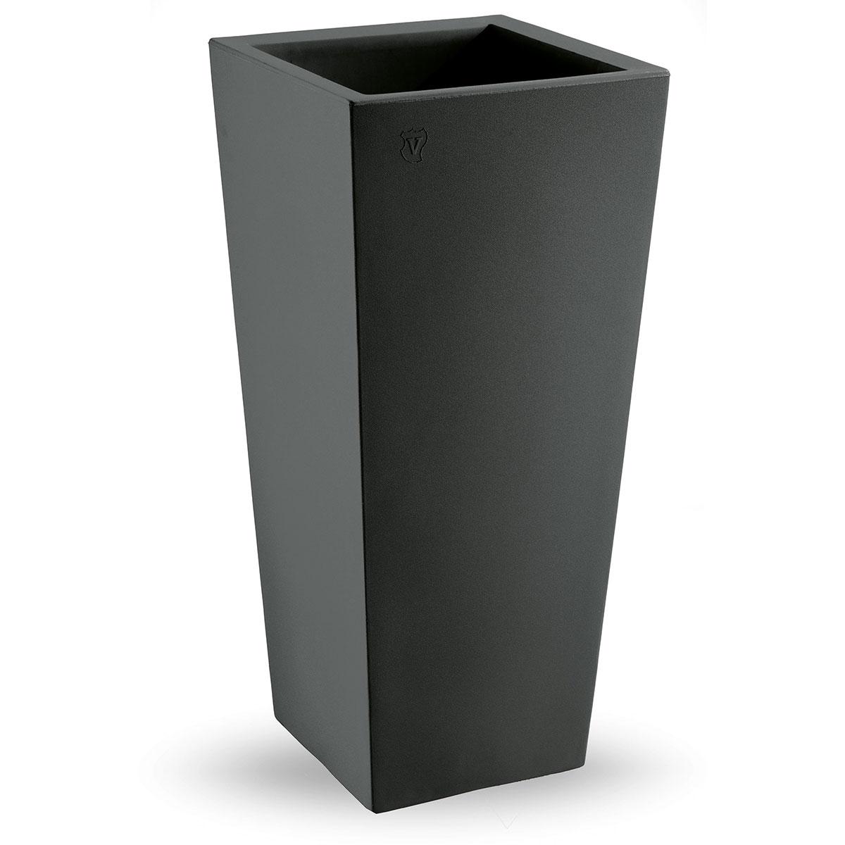promo vaso genesis quadrato grigio antracite di lyxo