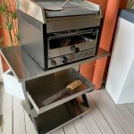 outlet rimini barbecue CITY con carrello