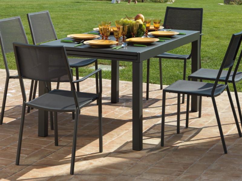 promo tavolo sofy 280 grigio antracite di vermobil