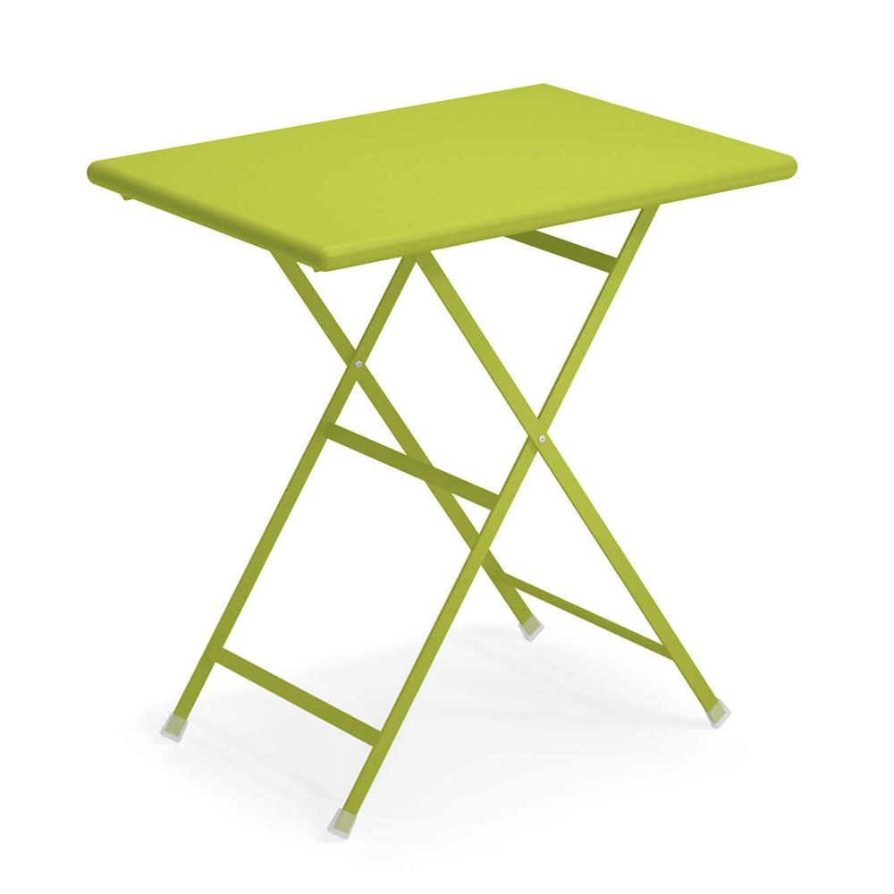 tavolo arc en ciel 70 verde acido di emu