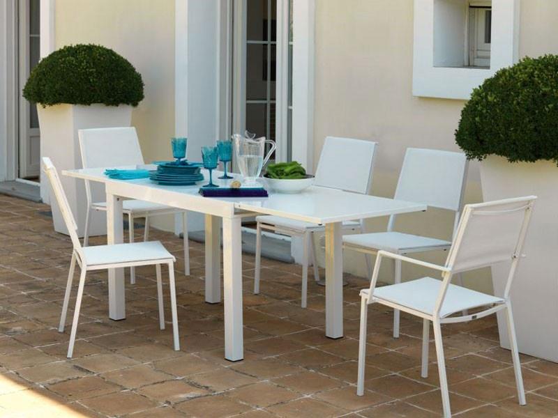 tavolo sofy 200 bianco di vermobil
