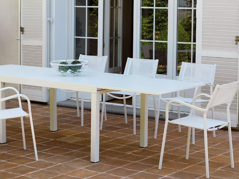 tavolo sofy 280 bianco di vermobil