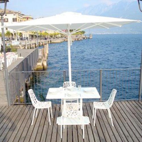 ombrellone ocean 2x3 bianco di ombrellificio veneto